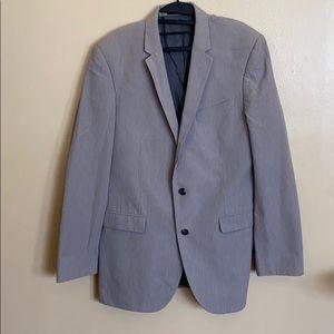Pinstripe honeysuckle jacket